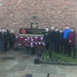 Remembrance 2019 Photo 2 of children with wreaths