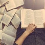 Reading a book from point of view of reader